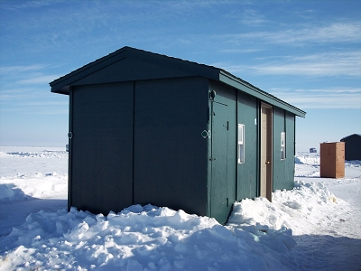 Lake mille lacs ice fishing house and storage rental rates for Mille lacs ice fishing rentals