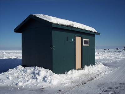 Mille lacs lake ice fishing house rentals wilderness for Mille lacs ice fishing rentals