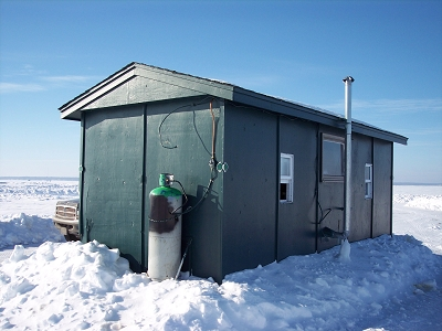 Lake Mille Lacs Ice Fishing House And Storage Rental Rates